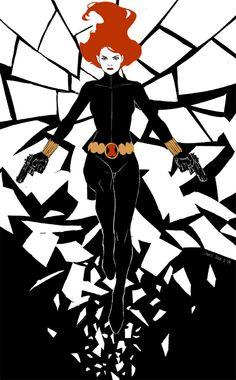 Black Widow by AXEEEEE