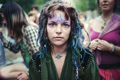 Rainbow Gatherings - Intentional communities of love, peace and harmony - CAT IN WATER