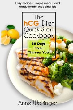 The hCG Diet Quick Start Cookbook 30 Days to a Thinner You >>> More info could be found at the image url.