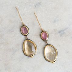 Jewelry designer, Ananda Khalsa, draws her inspiration from natural forms and the luminosity of natural gemstones. She tries to capture the classic styles and careful craftsmanship found in ancient je