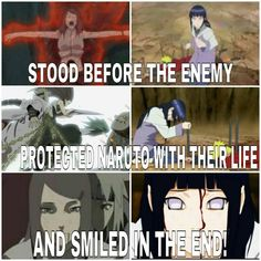 How Hinata is like Kushina and why she deserves to be with Naruto. #naruhina