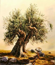 Artodyssey: Albania - Elidon Hoxha Self-taught artist, born in Tirana , Albania in Lives and works in Athens in Greece since Tree Watercolor Painting, Watercolor Landscape, Tree Illustration, Illustrations, Bonsai, Weird Trees, Cool Paintings, Tree Paintings, Unique Trees