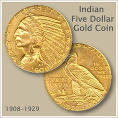 34f42e5d0fc Indian Five Dollar Gold Coin Gold Coin Values