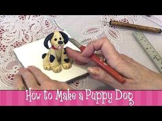 ▶ Polymer Clay Tutorial - How to Make a Puppy Dog - YouTube
