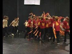 09  Indián tánc  -  3.c osztály