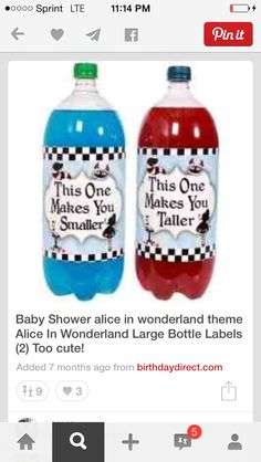 Would also work for any Alice themed party