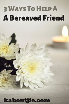 Not knowing how to ease someone's pain of loss is very hard, here are some excellent ways to help a bereaved friend. Obsessive Compulsive Disorder, Grief Loss, Health Resources, Positive Living, Mental Health Issues, Bereavement, Bipolar Disorder, Keeping Healthy, Health And Wellbeing
