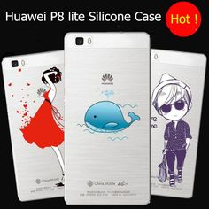 Huawei P8 lite silicone back cover