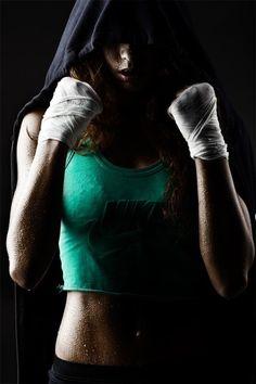 #fighter #portrait #sweat #hoodie