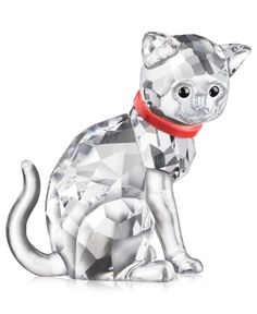 Swarovski Collectible Figurine, Cat Mother