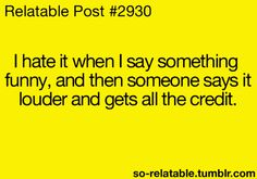 I hate it!