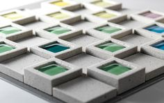 DentCube - The new ceramic tile from INAX    I love how many uses this tile has!