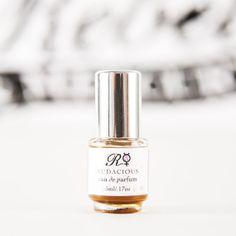 Audacious A Gardenia-inspired blend A Pure Botanical Eau du Parfum 5ml by rebelandmercury, $45.00