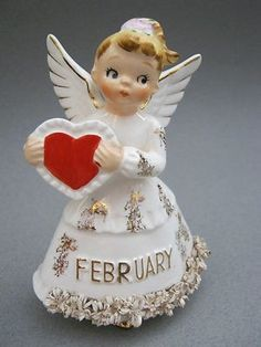 God is the God of all hope Romans Vintage Norcrest Angel My Funny Valentine, Saint Valentine, Vintage Valentines, Valentine Crafts, Valentine Heart, Birthday Angel, Valentines Day Birthday, Happy Valentines Day, Beautiful Christmas Decorations