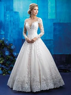 Wedding Dresses Madison, WI - Find Bridal Gowns at Vera's wedding gowns - Wedding Gown Long Sleeve Wedding, Wedding Dress Sleeves, Dream Wedding Dresses, Bridal Dresses, Wedding Gowns, Bridesmaid Dresses, Tulle Wedding, Prom Dresses, Lace Sleeves
