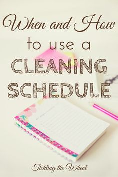 The thought of creating (and using) a schedule or routine of any kind might seem daunting, restrictive, and like it'll take more time than it's worth. But there are so many ways that a useful cleaning schedule can help you. Find out how to create your own