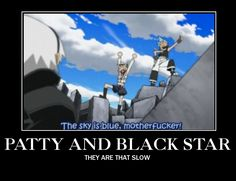 "Thanks Patty and ★,I wasn't sure. :-) this part was hilarious though ""we defeated the kishin AND bad weather"""