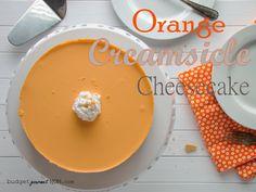 Orange Creamsicle Cheesecake from @Krista {Budget Gourmet Mom}