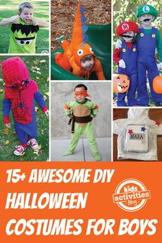 15  Awesome DIY Halloween Costumes for Boys