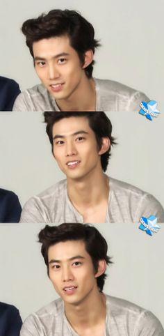 Ok Taecyeon those eyes...