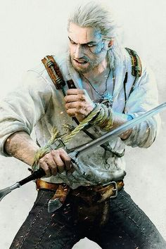 The Witcher 3 Wild Hunt Caretaker Wallpapers) – Wallpapers HD The Witcher 3, The Witcher Wild Hunt, The Witcher Books, Witcher Art, Witcher 3 Geralt, Final Fantasy, Fantasy Art, Video Game Characters, Fantasy Characters