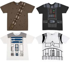 Figure out a way to make your own shirt. Get the right shirt color and markers, and draw it yourself!