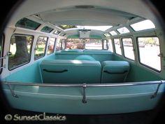 vw bus interior | 1965 VW 21-Window Bus Close-Up Gallery/1965-vw-21-window-samba-bus-039 Vw Bus T3, Kombi Camper, Vw Kombi Van, Volkswagen Type 2, Vw T1, Volkswagen Beetles, Volkswagen Golf, Vw Samba Bus, Kombi Interior
