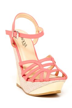 Bucco Coral Wedges