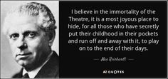QUOTES BY MAX REINHARDT | A-Z Quotes