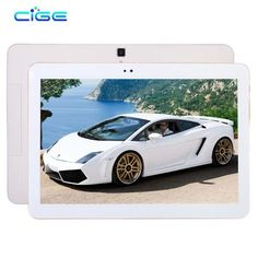 """CIGE 10.1"""" Octa-Core Tablet PC Android 6.0 4GB/64GB 4G Lte phone WIFI Dual Camera Tablets PCs Bluetooth Google Play  — 7536.29 руб. —"""