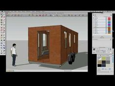 ▶ How to draw a Tiny House with Google SketchUp - Part 2 - YouTube -  To connect with us, and our community of people from Australia and around the world, learning how to live large in small places, visit us at www.Facebook.com/TinyHousesAustralia or at www.tumblr.com/blog/tinyhousesaustralia