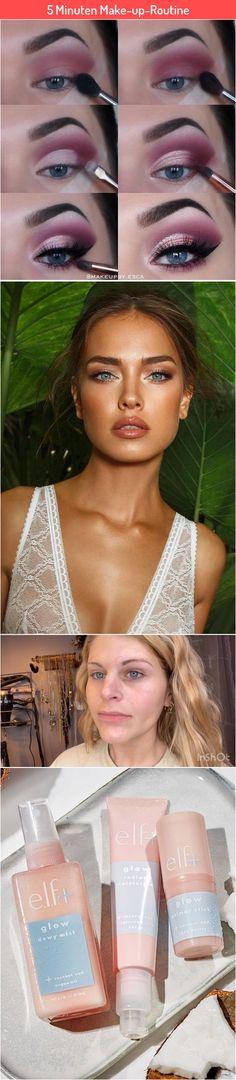 5 Minuten Make-up-Routine Best Makeup Primer, Best Makeup Products, Routine, Love, Tutorials