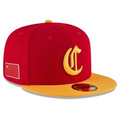 5b49685de06 China Baseball New Era 2017 World Baseball Classic 59FIFTY Fitted Hat -  Red Yellow
