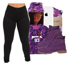 """"""""""" by gabb-slayy ❤ liked on Polyvore featuring Timberland"""