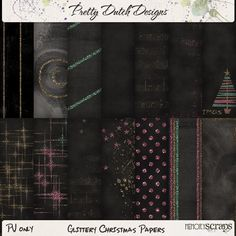 Glittery Christmas Kit :: Full & Mini Kits :: Memory Scraps