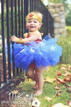 88 of the Best DIY No-Sew Tutu Costumes - DIY for Life   Wonder Woman