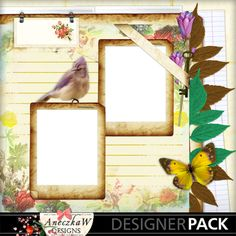 free digital scrapbooking quickpage
