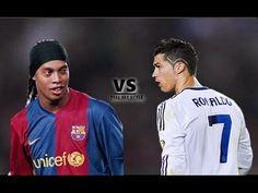 Ronaldinho vs Cristiano Ronaldo ● Skills Battle  http://www.1502983.talkfusion.com/products/