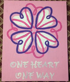 Day 3 Sigma Kappa Big Little presents one heart one way