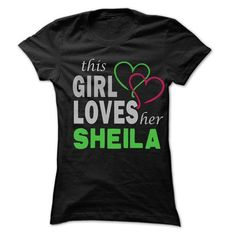 This Girl Love Her SHEILA - 99 Cool Name Shirt ! - #grandparent gift #day gift. PURCHASE NOW => https://www.sunfrog.com/LifeStyle/This-Girl-Love-Her-SHEILA--99-Cool-Name-Shirt-.html?68278