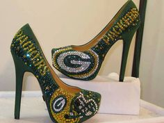 Not a GreenBay fan but definitely awesome shoes!