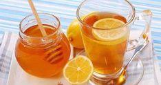 Miel con limón para los resfriados