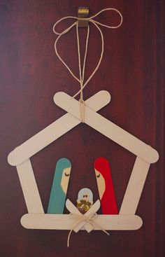 popsicle nativity scene :) IMG_1454 by bountifully, via Flickr
