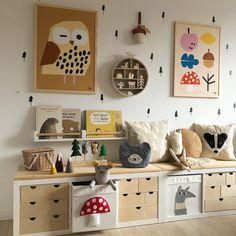 New Swedish Design ( New Swedish Design, Kallax Regal, Baby Co, Kids Room Design, Modern Kids, Kidsroom, Kids Bedroom, Playroom, Decoration