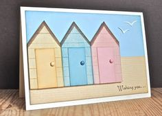 Stampin' Up ideas and supplies from Vicky at Crafting Clare's Paper Moments: Wishing you... fun on the beach!