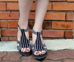 Hmong Embroidered  Womens Ethnic Shoes Black by SiameseDreamDesign, $44.00
