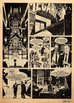Jorge Zaffino - Página cómic