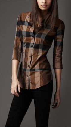Burberry. Long top and leggings - I Love the long top it looks great