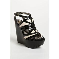Jessica Simpson 'Krisella' Sandal ($98) ❤ liked on Polyvore