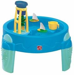 Amazon.com: Step2 WaterWheel Activity Play Table: Toys & Games $42.99  Great for summertime play outside!